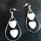 Tear Drop/Heart Earrings