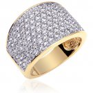 Gold Vermeil Multi CZ Fashion Ring