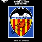 Valencia Football Club logo crochet graphghan pattern