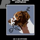 Brittany Spaniel Crochet Graphghan Blanket Pattern