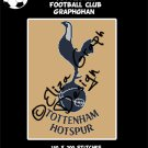 Tottenham Football Club logo crochet graphghan blanket pattern