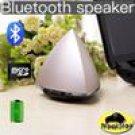 Portable Bluetooth speaker pyramid