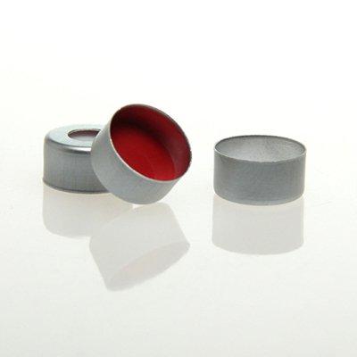 Autosampler Vial 11mm aluminum crimp cap with septa