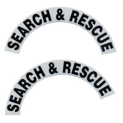 Reflective Helmet Crescent - SEARCH & RESCUE