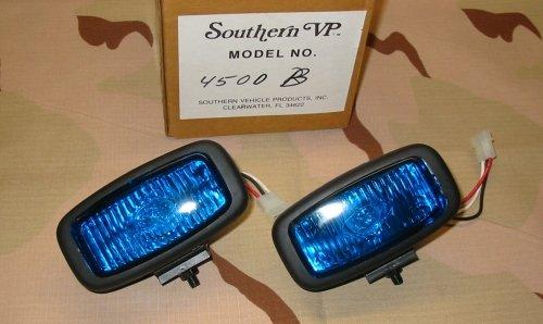 Signal VP Mini Grill Strobe Light - BLUE