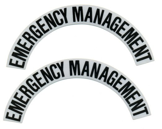 Reflective Helmet Crescent - EMERGENCY MANAGEMENT