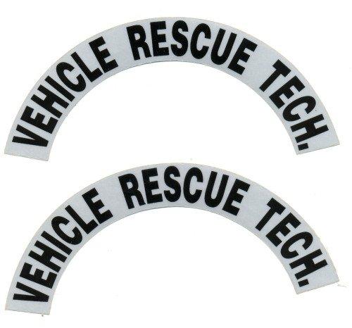 Reflective Helmet Crescent - VEHICLE RESCUE TECH.