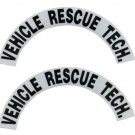 Reflective Helmet Crescent - VEHICLE RESCUE TECH.