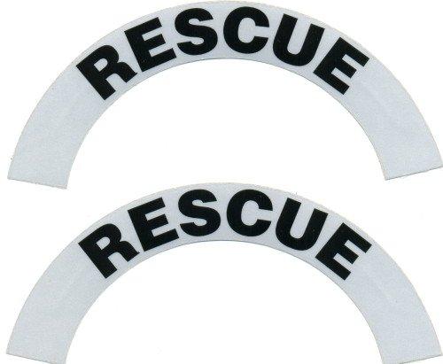 Reflective Helmet Crescent - RESCUE
