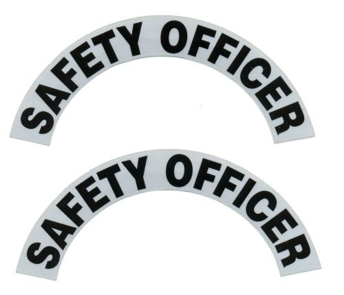 Reflective Helmet Crescent - SAFETY OFFICER