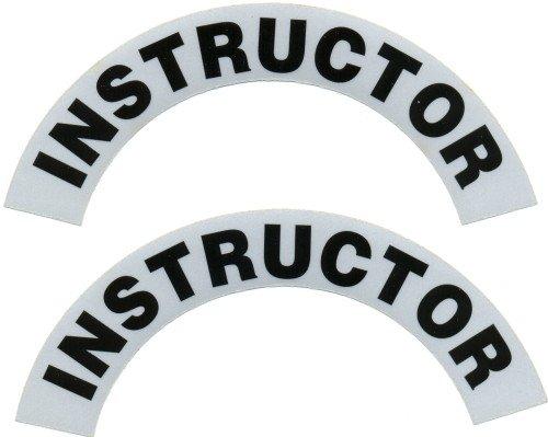 Reflective Helmet Crescent - INSTRUCTOR