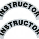 Reflective Helmet Crescent - INSTRUCTOR