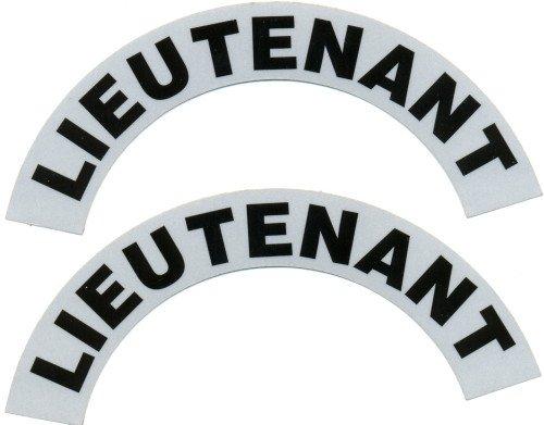 Reflective Helmet Crescent - LIEUTENANT