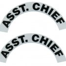 Reflective Helmet Crescent - ASST. CHIEF