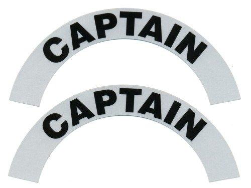 Reflective Helmet Crescent - CAPTAIN