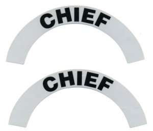 Reflective Helmet Crescent - CHIEF