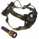 Multifunctional 2 In 1 CREE XPE LED Headlamp & Flashlight