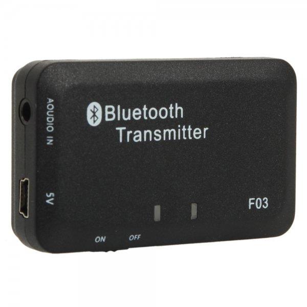 TS-BT35F03 Bluetooth Audio Transmitter Black