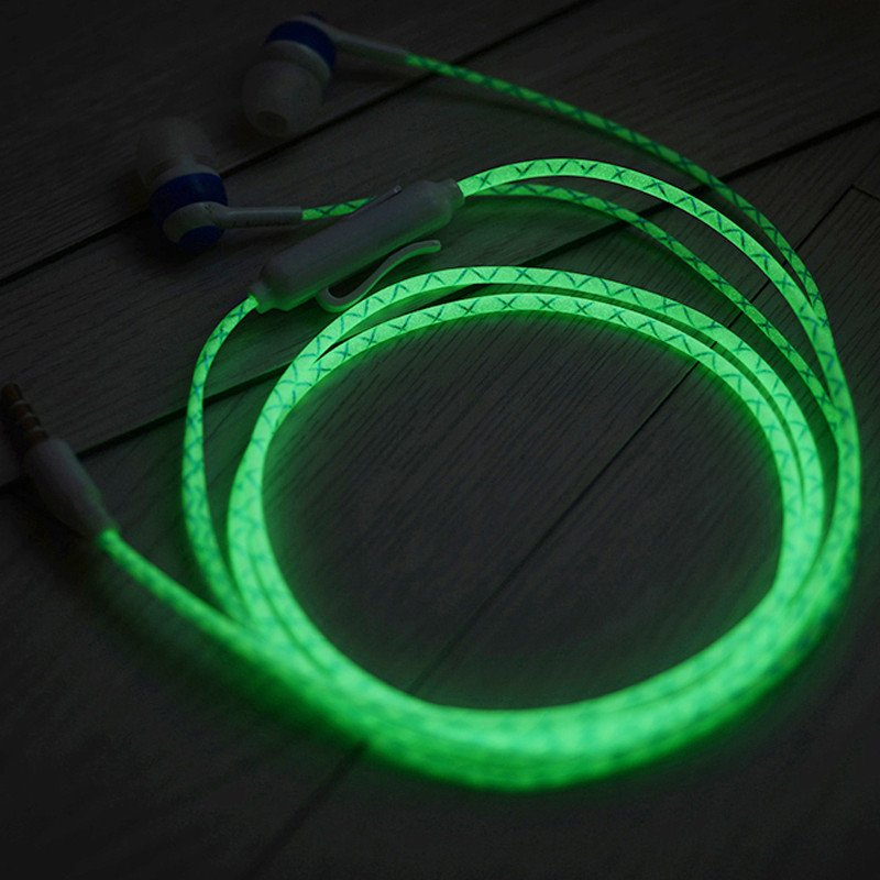 Lighting Earphones With Microphone