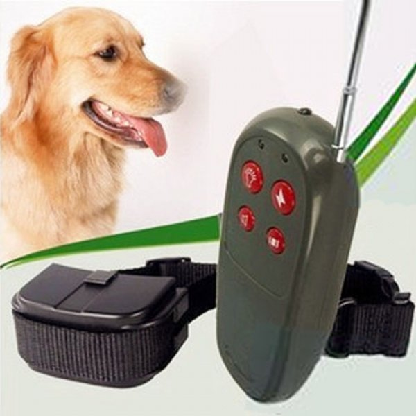 NO-Barking Pet Training Collars Dog Shock Bark Collar with 2 AAA Batteries