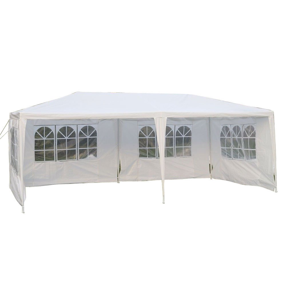 10 x 20 Foot Four Sides Waterproof Foldable Tent White