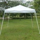 10 x 10 Foot EZ POP UP Wedding Party Tent Folding Gazebo Beach Canopy W/Carry Bag