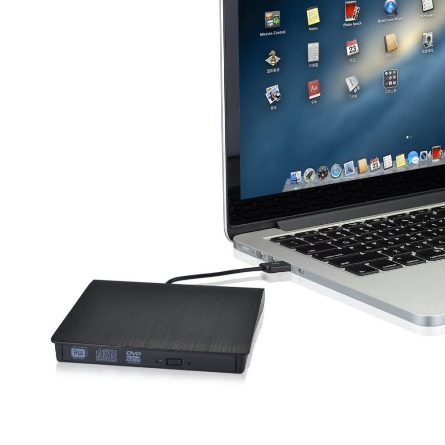 External Slim USB 3.0 DVD±RW / DVD-RAM Read Writer Burner Drive
