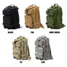 3P Outdoor Sport Camping Hiking Trekking Bag Military Tactical Rucksacks Backpack (5 Colors)