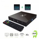 Quad-Core Cortex A53 2.0GHz Android 6.0 HD TV Box with 2GB RAM +16G WiFi/4k x 2k US Plug Black