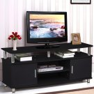 115 x 40 x 52cm Elegant Household Decoration TV Cabinet with Drawers Black