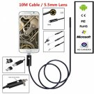 5.5mm 10M 2 In 1 Waterproof Smartphone USB Endoscope
