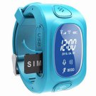 Kid GPS/GSM/Wi-Fi Triple Positioning Smart Watch Blue
