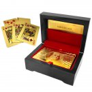 24kt Gold-Plated Playing Cards With Carry Case