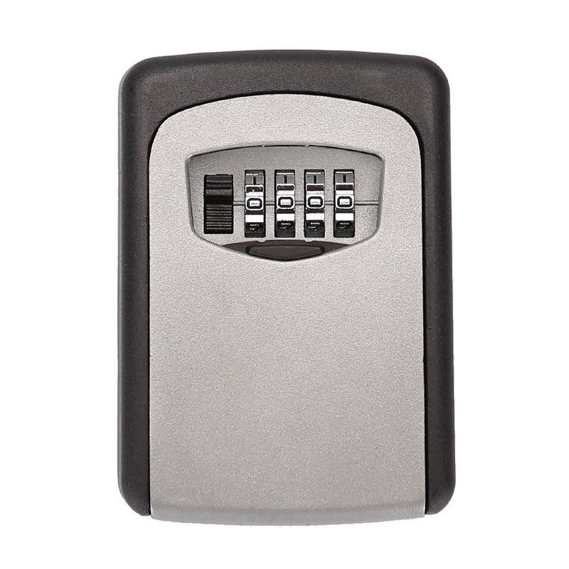 4-Digit Combination Wall Mount Key Lock Box