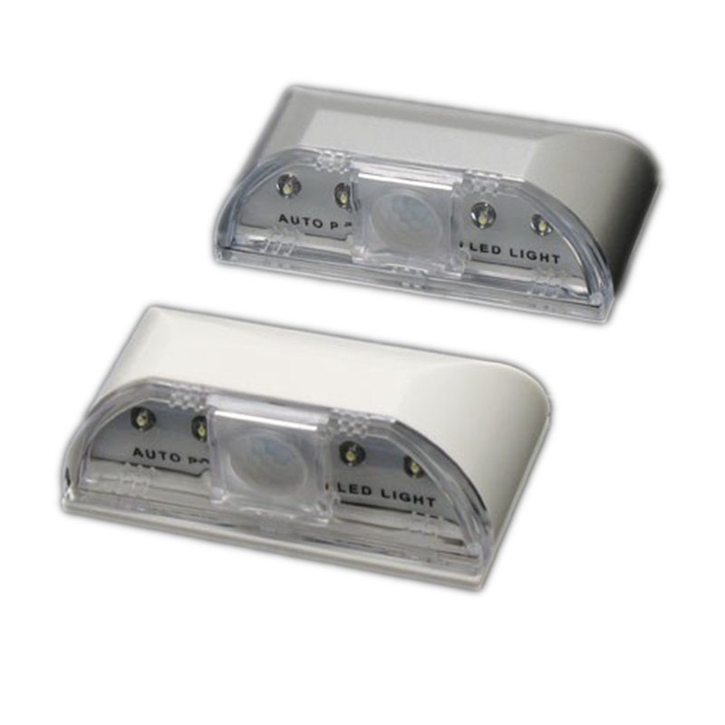 2-Pack Auto PIR Keyhole LED Lights