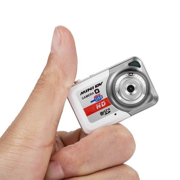 Mini DV DVR Camera Recorder Video Camera Sports DV / Camera White