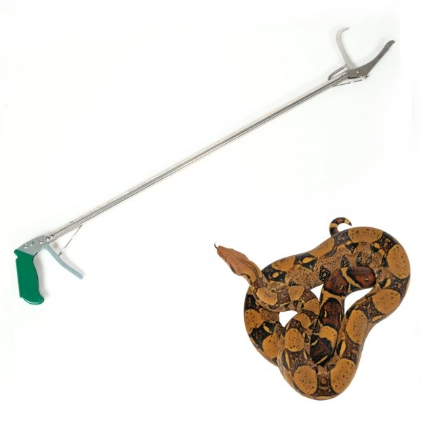 Aluminum Alloy Snake Clamp with Self-lock Function (120cm) Silver & Green