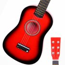 "23"" Acoustic Guitar+Pick+Strings Red"