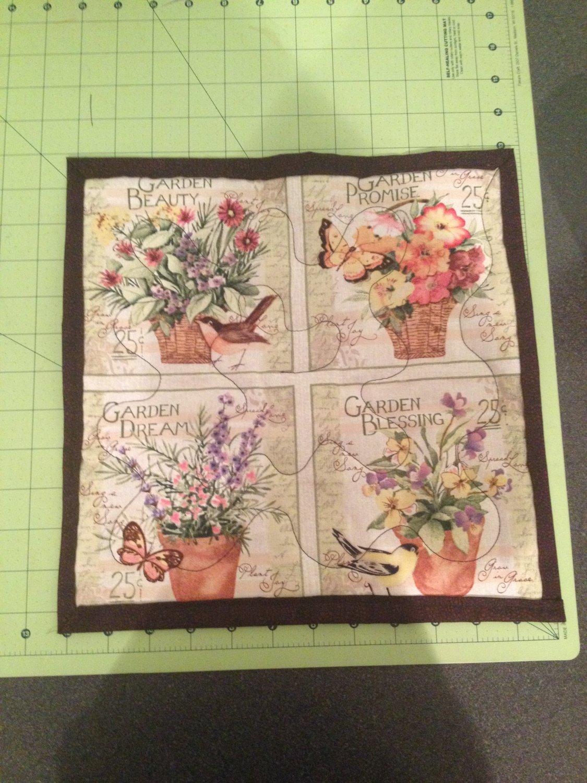 Garden Blessings Floral Table Mat
