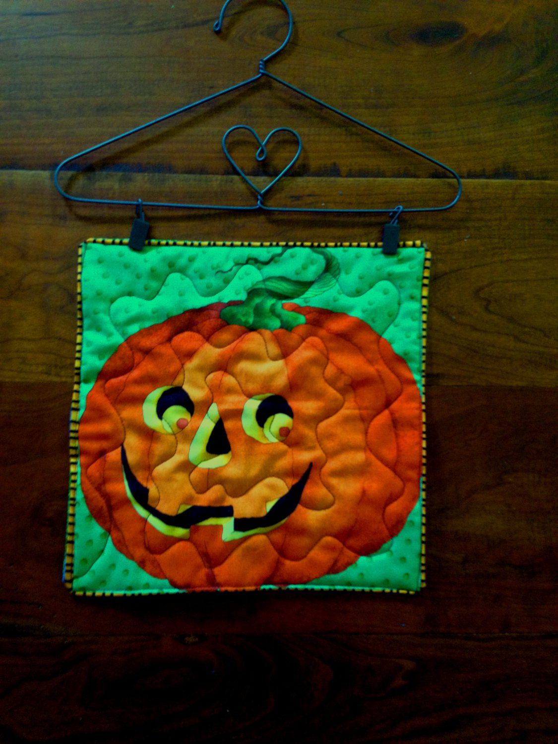 Halloween Wall Hanging - Pumpkin