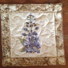 Table Topper Blue Floral