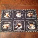 Capuccino Espresso Table Runner Small