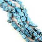 "32"" Strand Turquoise Howlite Chips"