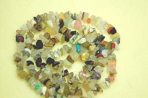 "32"" Strand Mixed Gemstone Chips"