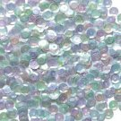 6mm Cup Sequins Pastel Crystal Rainbow Iris Iridescent. Made in USA
