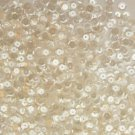 Cup Sequin 6mm Loose Clear Crystal Luster Made in USA