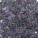 6mm Sequins Black Galactic Night Hologram Glitter Sparkle Metallic. Made in USA