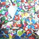 "Rectangle Sequin 1.5"" Multicolor Sequined Mix Pattern Metallic"