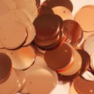 20mm Sequins Copper Metallic. Made in USA