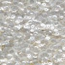5mm Cup Sequins Crystal Luster. Made in USA